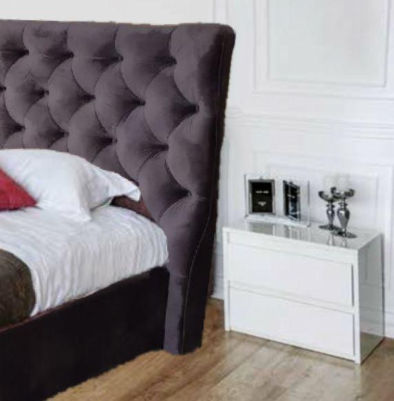 Кровать двуспальная ПурПур (Embawood) (2)