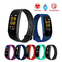 Фитнес браслет M5 Band Smart Watch Bluetooth 4.2, шагомер, фитнес трекер, пульс, монитор сна