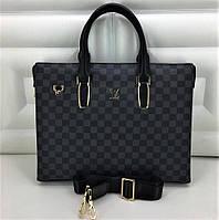 Мужская сумка Louis Vuitton. Мужской портфель Луи Виттон. Люкс качество.