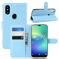 Чехол-книжка Litchie Wallet для Oukitel C15 Pro Blue