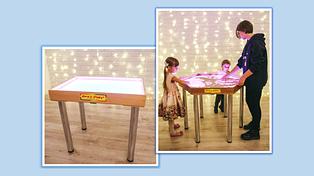 Столы и планшеты для песочной анимации