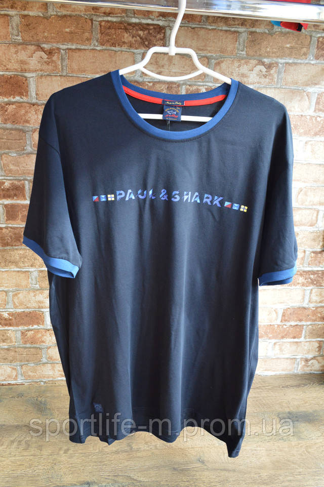 paul shark мужская футболка увеличенного размера
