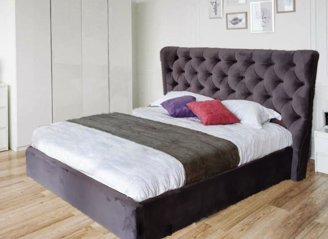 Кровать двуспальная ПурПур (Embawoo)