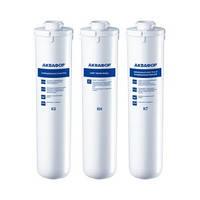Комплект сменных модулей картриджи К3-KН-K7 (03-04-07)для Аквафор Кристалл. Фильтр для жесткой воды