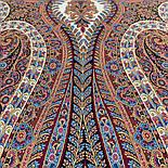Великолепный век 1867-16, павлопосадский платок (шаль, крепдешин) шелковый с шелковой бахромой, фото 2