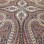 Великолепный век 1867-16, павлопосадский платок (шаль, крепдешин) шелковый с шелковой бахромой, фото 6