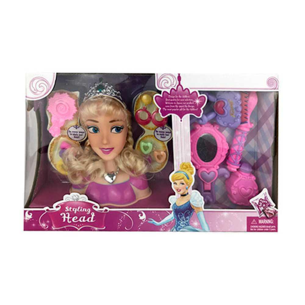 Кукла для причесок блондинка