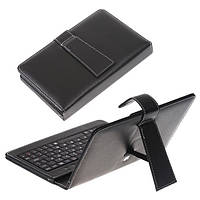 Чехол клавиатура для ПК планшета 7 Rus Black Mini и Micro Usb