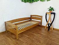 """Кровать односпальная из натурального дерева от производителя """"Марта"""" (светлый дуб)"""