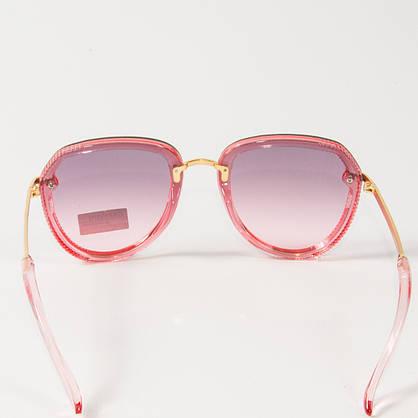 Оптом женские солнцезащитные очки авиатор  (арт. 33707/2) розовые, фото 3