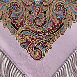 Великолепный век 1867-15, павлопосадский платок (шаль, крепдешин) шелковый с шелковой бахромой, фото 2