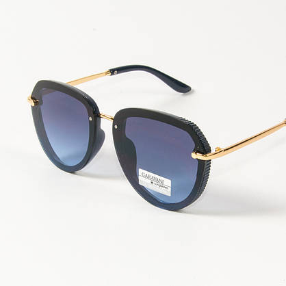 Жіночі сонцезахисні окуляри Оптом авіатор (арт. 33707/4) сині, фото 3
