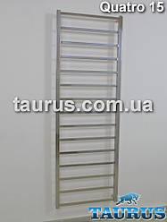 Большой высокий полотенцесушитель Quatro 15/1550 х 500 мм. В современном стиле ванной комнаты