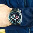 Часы мужские в стиле BMW. Мужские наручные часы черные. Часы с черным циферблатом Годинник чоловічий, фото 2