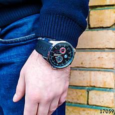 Часы мужские в стиле BMW. Мужские наручные часы черные. Часы с черным циферблатом Годинник чоловічий, фото 3