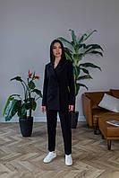 Брючный костюм черного цвета Udler, фото 1