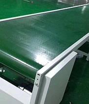 Лента конвейерная с покрытием ПУ (PU) 800х0,8мм цвет зеленый, конечная, бесконечная, фото 2