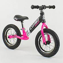 """Велобіг від-беговел з надувними колесами Corso 88621, сталева рама, колесо 12"""""""