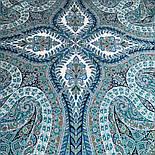 Великолепный век 1867-11, павлопосадский платок (шаль, крепдешин) шелковый с шелковой бахромой, фото 9