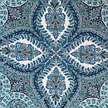 Великолепный век 1867-11, павлопосадский платок (шаль, крепдешин) шелковый с шелковой бахромой, фото 6