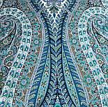 Великолепный век 1867-11, павлопосадский платок (шаль, крепдешин) шелковый с шелковой бахромой, фото 2
