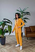 Брючный костюм оранжевого цвета Udler, фото 1