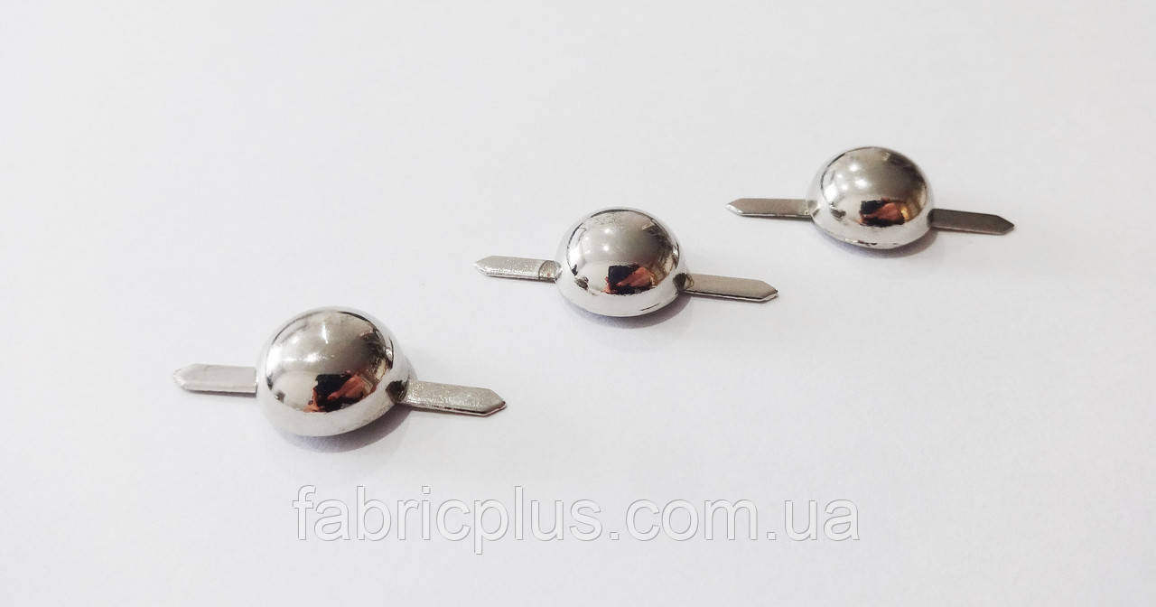 Фурнитура для сумок на прокол цвет никель (металл)
