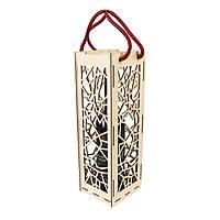 Подарункова винна коробка з дерева (вертикальна), фото 1