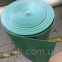 Лента конвейерная с покрытием ПУ (PU) 550х1,2мм цвет зеленый, конечная, бесконечная, фото 2
