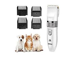 Професійна Машинка для стрижки собак і котів Gemei GM 634 4 насадки керамічні ножі, фото 2