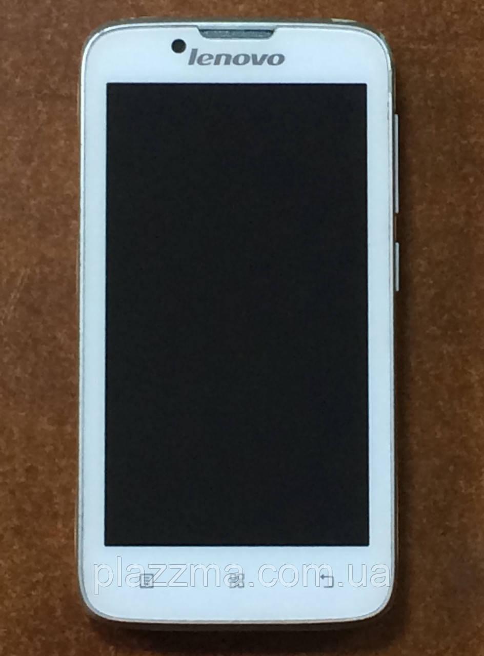 Телефон Lenovo A328 (White) на запчасти или восстановление