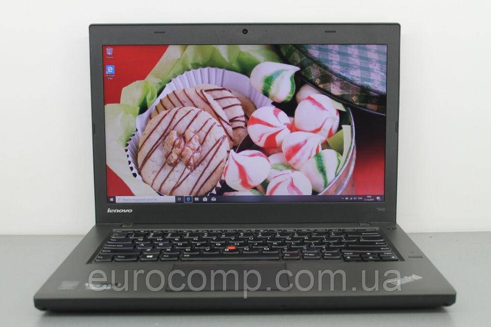 Мощный ультрабук бизнес серии для офиса и дома Lenovo ThinkPad T440 14'' (Лицензия Windows 10 Pro)
