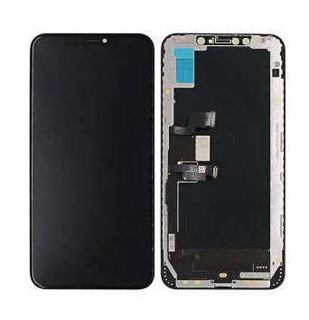 Дисплей iPhone XS Max модуль в зборі з тачскріном, чорний (TFT), Copy, Tianma