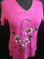 Женская футболка с красивым рисунком, фото 1