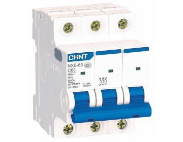 Автоматичний вимикач NXB-63 3P C32 6kA