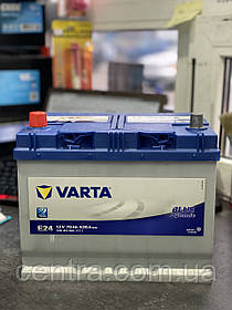 Автомобильный аккумулятор VARTA 6СТ-70 BLUE dynamic (E24)