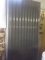 Шифер пластиковый листовой Прозрачный 0,87м*2,0м (1,74м2/лист)