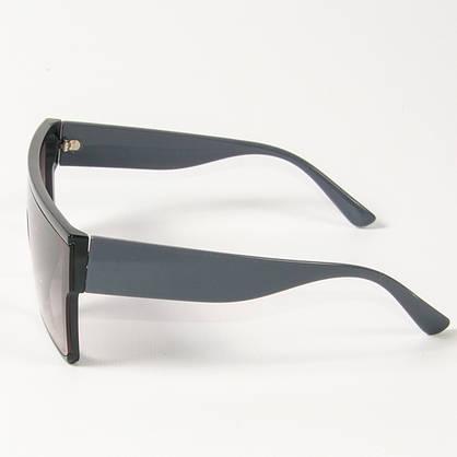 Оптом солнцезащитные очки маски (арт. 338818/6) светло-коричневые, фото 2