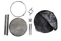 Сковородка из бороны 500мм + крышка + подставка с разборными ножками + чехол