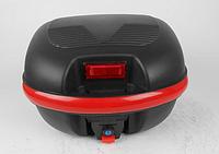 Кофр для мотоцикла (багажник) HF-852 черный мат