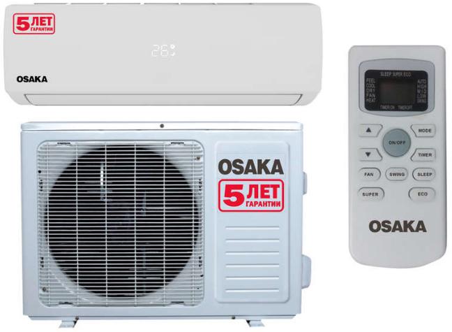 Сплит система OSAKA ST-18HH Elite