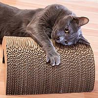Когтеточка для Кота 30 х 24 см Картонная Когтедралка Царапка для Кошки