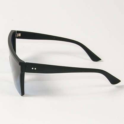 Оптом солнцезащитные очки маски (арт. 335121/2) синие, фото 2
