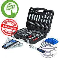 НАБОР инструмента 4в1 за 1449 грн.(108 ед.PROFLINE+Наб.ключей 12 ед.+Компл.отверток  6 шт+трещотка/магнит)
