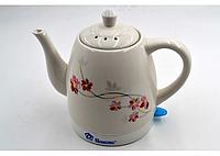 Керамический электрочайник Domotec MS-5054 (1.5 л / 1500 Вт), керамический чайник,  новый керамический электрочайник,  чайник керамический 1.7л, , фото 1