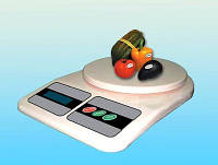 Электронные кухонные весы 10кг, весы кухонные, 10кг, торговые весы