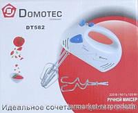 Миксер ручной Domotec DT-582, Миксеры, кухонные комбайны, Міксери, кухонні комбайни
