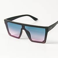 Солнцезащитные очки маски (арт. 335121/3) голубые, фото 1