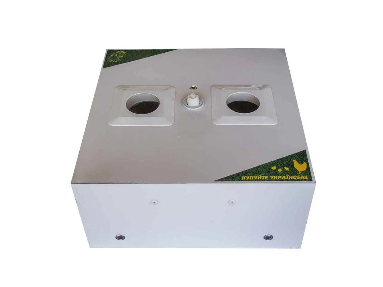 Домашний автоматический инкубатор в пластиковом корпусе на 42 яйца