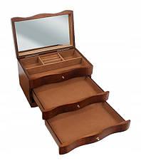 Деревянная шкатулка-органайзер Wooden Collection для украшений, 831154, фото 3